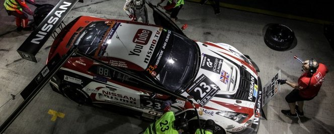 2ème place aux 24h de Dubaï GT3 Pro-am pour Gaëtan Paletou (vainqueur de la GT Academy 2014 Europe)