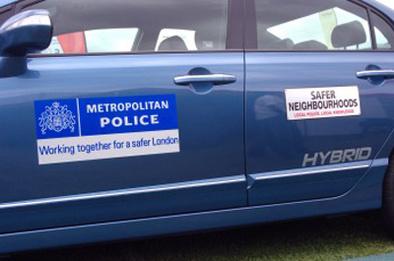 Honda hybride la Police