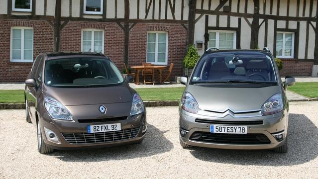 Renault Scénic 3 VS Citroën C4 Picasso : le match fiabilité
