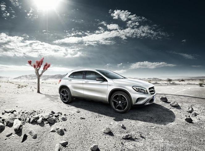 Pour commencer, voici le Mercedes GLA Edition 1