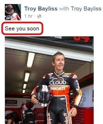 Superbike - Ducati: Troy Bayliss va jouer les prolongations