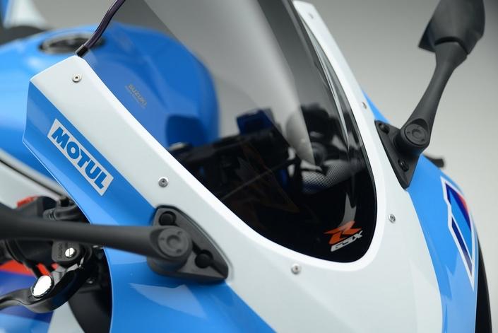 Suzuki GSX-R1000R façon Team Classic Suzuki
