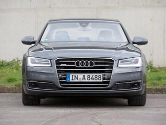 L'Audi A8 restylée
