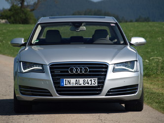 L'Audi A8 avant restylage