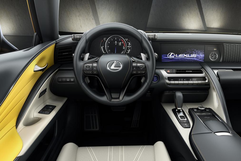 Lexus Lc Yellow Edition Tres Jaune En Direct Du Mondial De