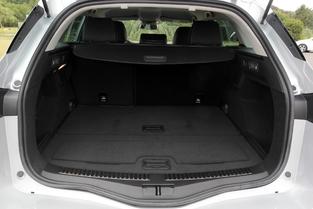 La Mégane offre un volume oscillant de 521 à 1 504 litres