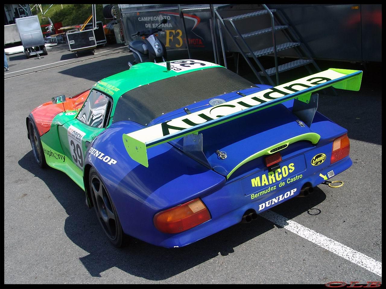 Marcos Mantis GT Open