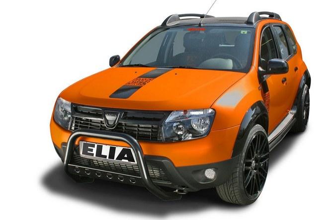 Le Dacia Duster devient baroudeur de ville avec Elia