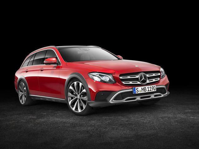 Mondial de Paris 2016 – Mercedes Classe E All-Terrain: l'anti-Allroad