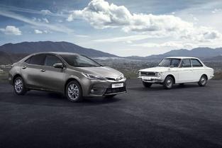 Toyota fête les 50 ans de la Corolla