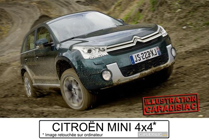 Citroën veut son mini 4x4 !