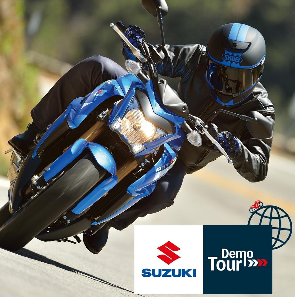 Calendrier : Suzuki Demo Tour 2015