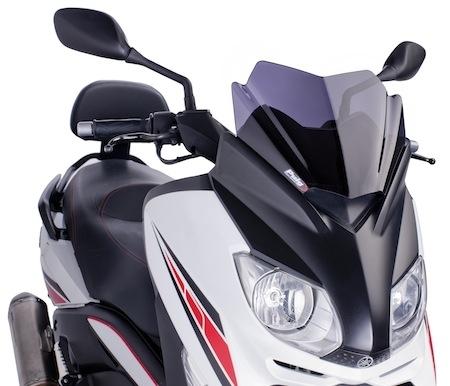 """Puig: une bulle """"Sport"""" pour le Yamaha X-Max (125 et 250)"""