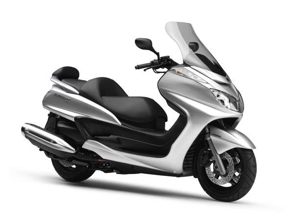 Le nouveau Yamaha Majesty 400 ABS s'installe en concession