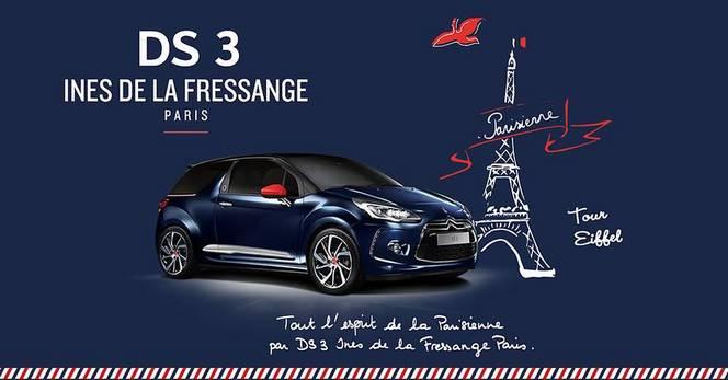 La série spéciale DS 3 Ines de la Fressange Paris déboule en concession