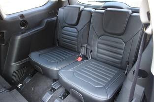 Les deux derniers sièges offrent un confort très correct.