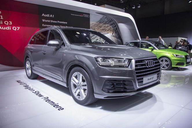 Vidéo en direct du salon de Bruxelles 2015 - Audi Q7 : la révolution