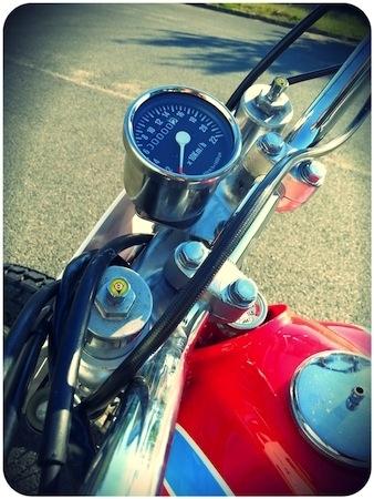 Dirt Bike: tout le style US sur une Honda 600 XLR