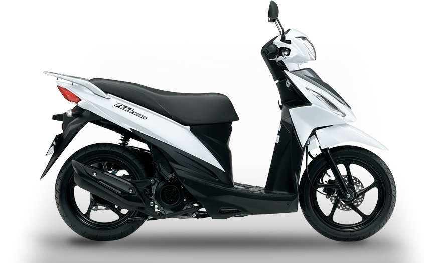 Suzuki Address 115 : disponible début avril au tarif de 1990 €