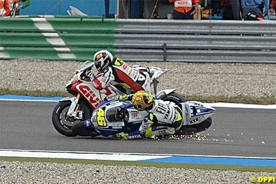 Moto GP - Pays Bas D.1: Rossi complimente Randy