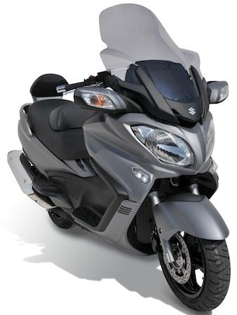 Ermax: bulles pour Suzuki 650 Burgman (2013)