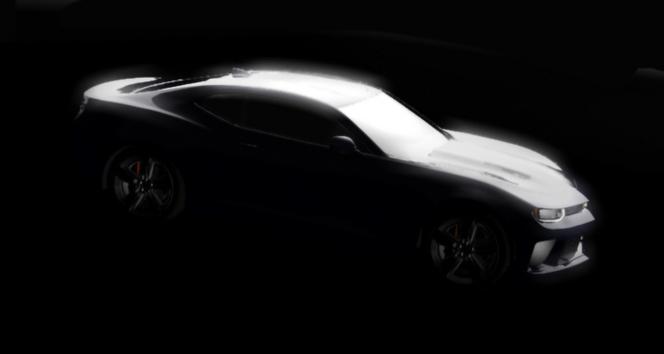 Chevrolet : la nouvelle Camaro en esquisse
