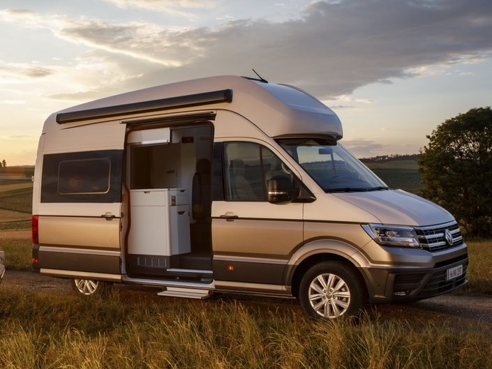 camping car volkswagen pr sente le grand california. Black Bedroom Furniture Sets. Home Design Ideas