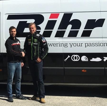 Bihr et Tech3 reconduisent leur partenariat pour la saion 2017