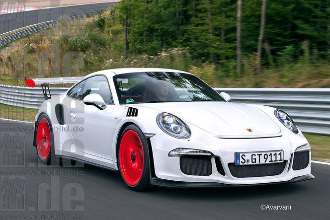 La Porsche 911 GT3 RS avec un tout nouveau moteur atmosphérique