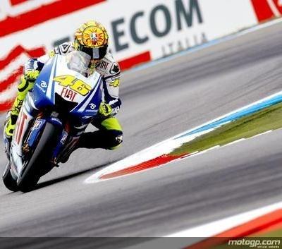 Moto GP - Pays Bas D.2: Rossi craint surtout la pluie