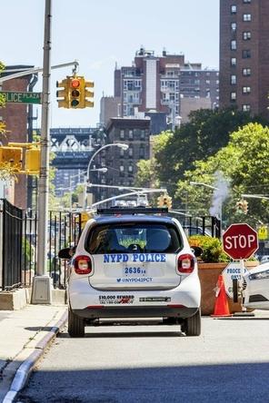 La police de New York remplace ses motos à trois roues par des Smart Fortwo