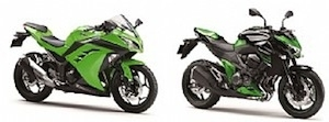 Kawasaki rappelle ses Ninja 300 et Z800