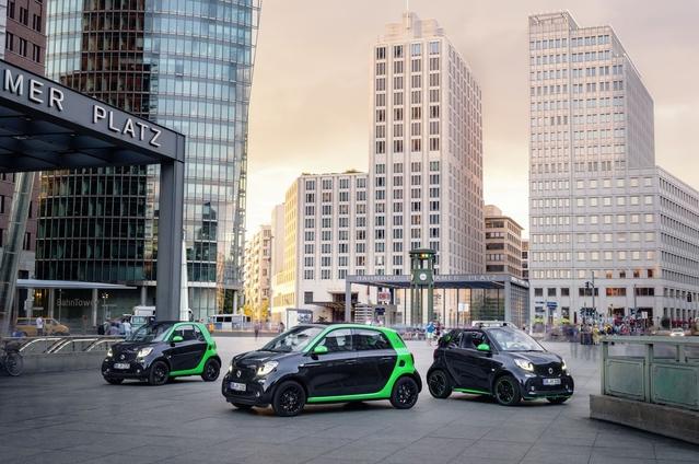 Mondial de Paris 2016 - Smart électrifie toute sa gamme