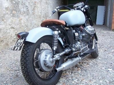 Photo du jour : Moto Guzzi V7 850 GT California Eldorado Bobber