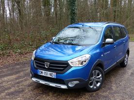 Essai vidéo - Dacia Lodgy Stepway : léger affinage