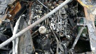 Insolite : sa Ferrari F40 brûle immédiatement après sa sortie de restauration