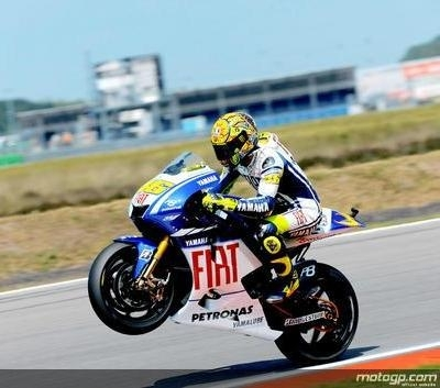 Moto GP - Pays Bas D.3: Et de cent, sans souci pour Rossi