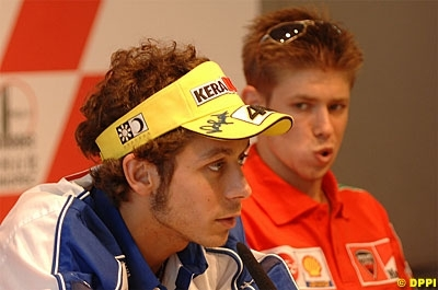 "Moto GP: Australie: Stoner: ""Rossi doit apprendre à perdre"""