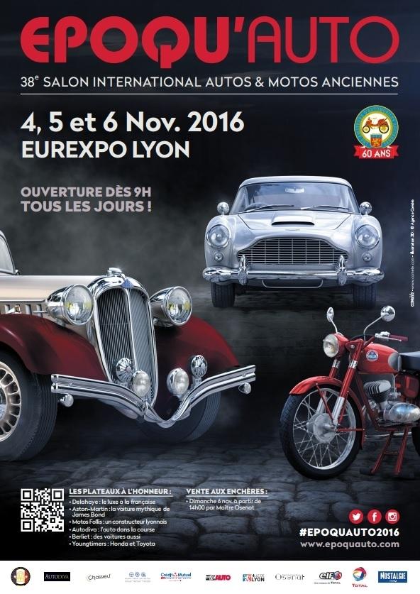 Agenda : le salon Epoqu'Auto à ne pas manquer dès le 4 novembre