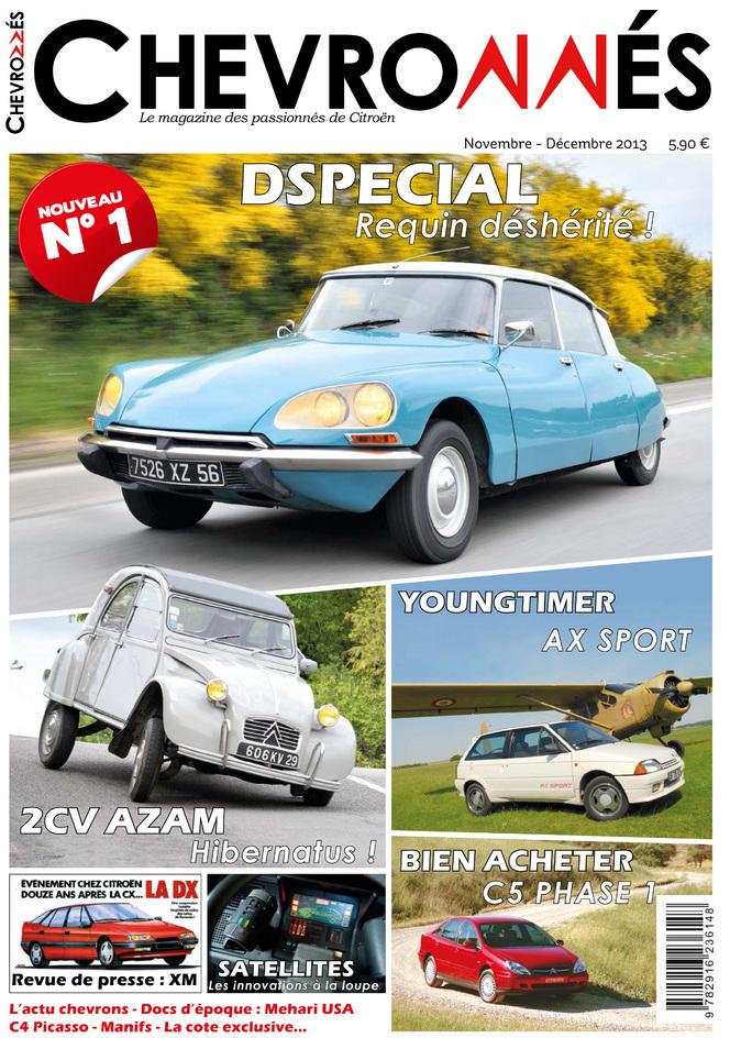 Chevronnés : un nouveau magazine dédié à Citroën