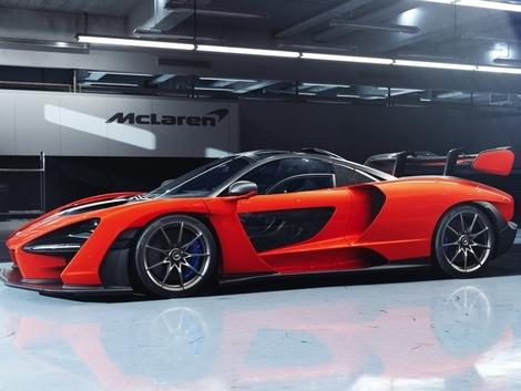 17e ex. McLaren Senna - V8 800 ch - 340 km/h