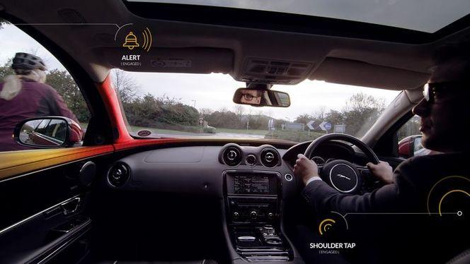 Jaguar veut protéger les deux-roues avec Bike Sense