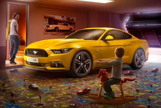 la ford mustang partir de 35 000 en france. Black Bedroom Furniture Sets. Home Design Ideas