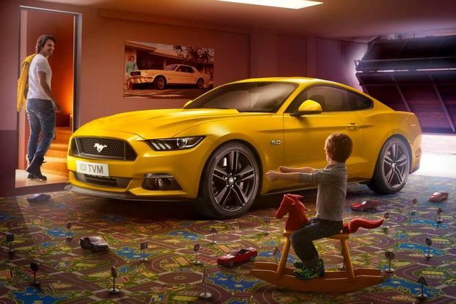 La Ford Mustang à partir de 35 000€ en France