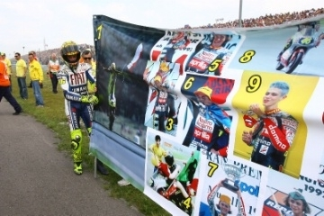 Moto GP - Rossi: Un centenaire toujours vert