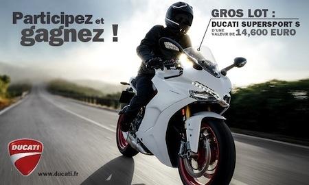 Jeu Louis-Moto: une Ducati SuperSport S à gagner