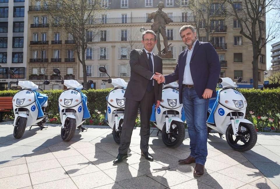 Le service Cityscoot s'implante à Neuilly/Seine