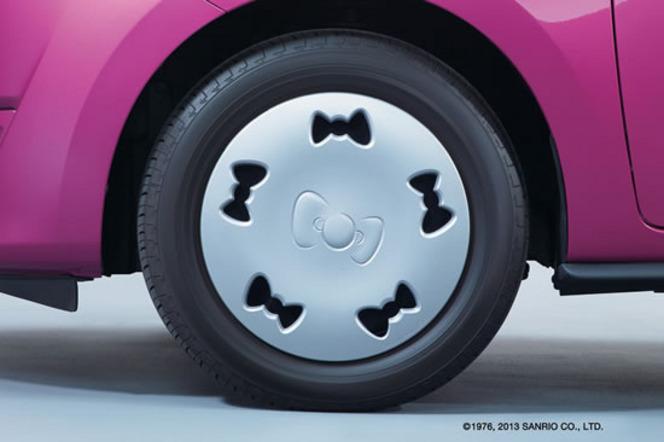 Mitsubishi Mirage/Space Star Hello Kitty, la série spéciale des 40 ans
