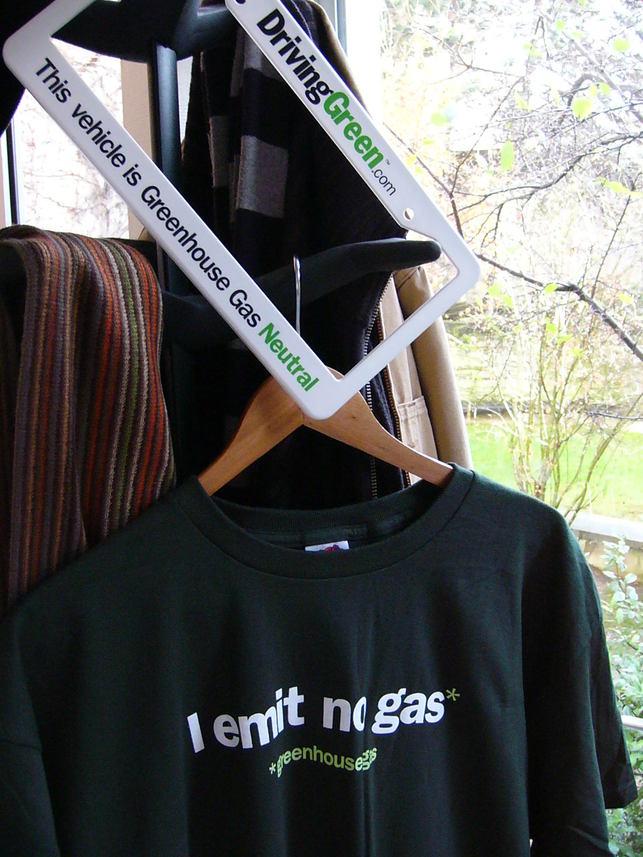 Je n'émets pas de gaz...