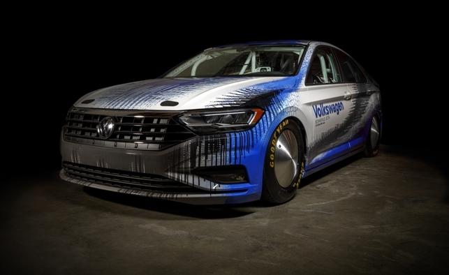 Volkswagen veut battre un record de vitesse à Bonneville avec une Jetta